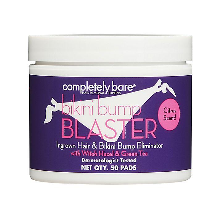 Alternate image 1 for Completely Bare 50-Count bikini bump BLASTER Ingrown Hair & Bikini Bump Eliminator