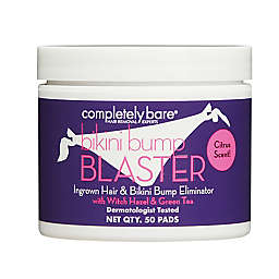 Completely Bare 50-Count bikini bump BLASTER Ingrown Hair & Bikini Bump Eliminator