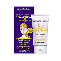 Completely Bare 1.7 FL. Oz. go fuzz FREE Facial Moisturizer & Hair Inhibitor