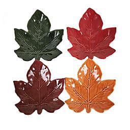 Leaf Appetizer Plates (Set of 4)