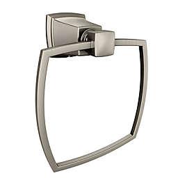 Moen® Boardwalk Towel Ring in Brushed Nickel