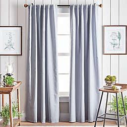 Martha Stewart Lido Backtab Blackout Window Curtain Panels (Set of 2)