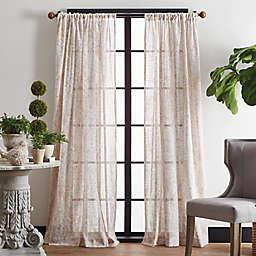 Martha Stewart Vega Poletop Window Curtain Panels (Set of 2)
