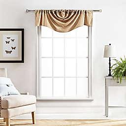 Martha Stewart Chenille Stitch Trump Window Valance in White (Single)