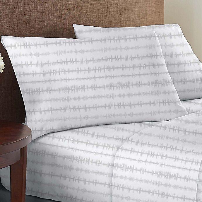 Alternate image 1 for Wild Sage™ Brushed Cotton 225-Thread-Count Sheet Set