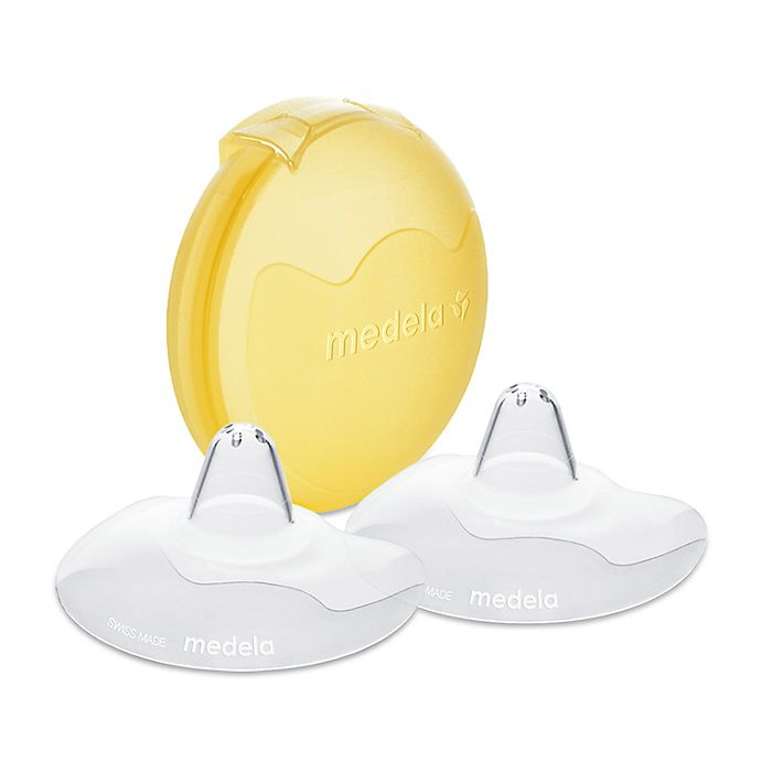 Alternate image 1 for Medela Contact™ 24mm 2-Pack Nipple Shield with Case