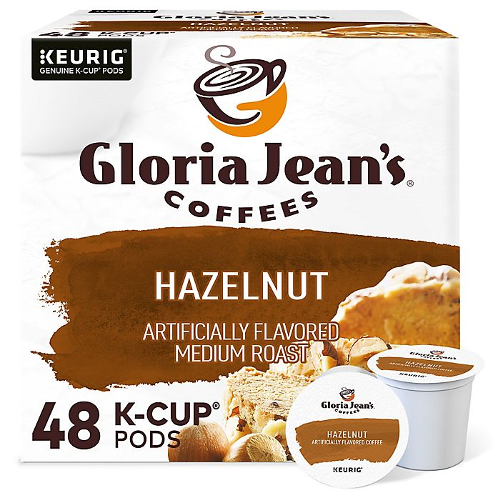 Alternate image 1 for Gloria Jean's® Hazelnut Flavored Coffee Keurig® K-Cup® Pods 48-Count