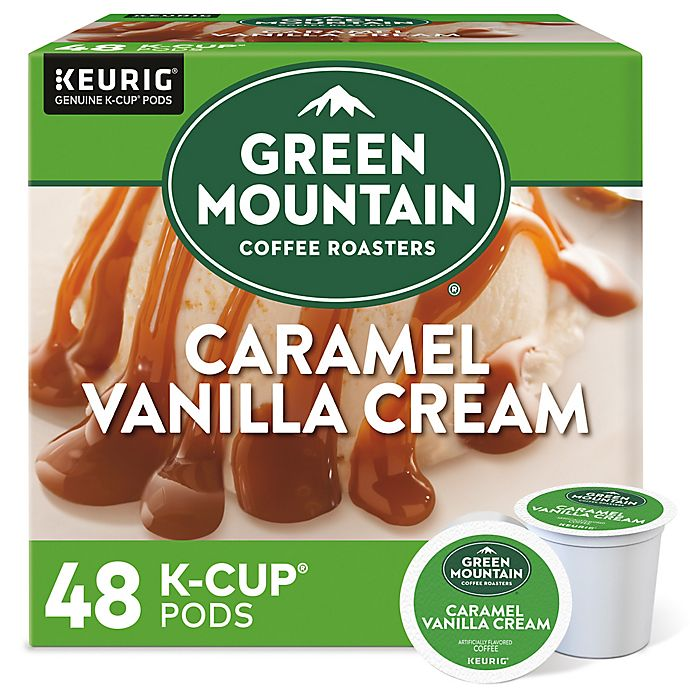 Alternate image 1 for Green Mountain Coffee® Caramel Vanilla Cream Coffee Keurig® K-Cup® Pods 48-Count