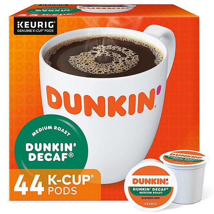 Alternate image 1 for Dunkin' Donuts® Decaf Coffee Value Pack Keurig® K-Cup® Pods 44-Count