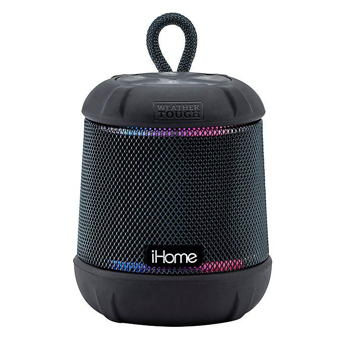 Alternate image 1 for iHome® PlayTough L Wireless Bluetooth® Waterproof Speaker in Black
