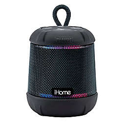 iHome® PlayTough L Wireless Bluetooth® Waterproof Speaker in Black