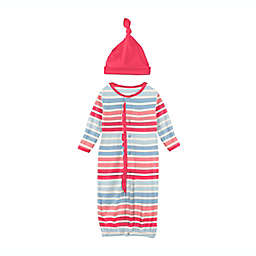 KicKee Pants® Layette Gown Converter in Cotton Candy Stripe