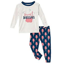 KicKee Pants® 2-Piece Sweet Dreams Pajama Set in Navy