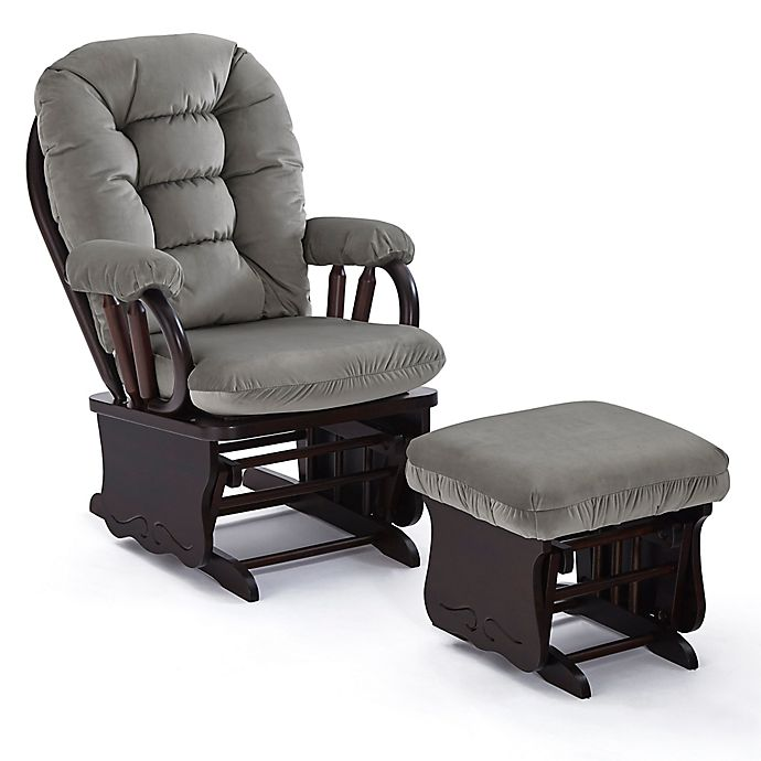 Alternate image 1 for Best Chairs® Bedazzle Glider and Ottoman