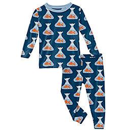 KicKee Pants® 2-Piece Goldfish Pajama Set in Navy
