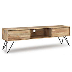 Simpli Home™ Hunter 60-Inch TV Stand in Ebony