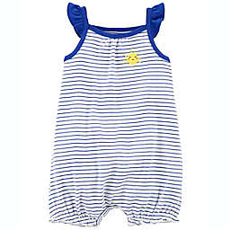 carter's® Striped Sun Snap-Up Romper in Navy