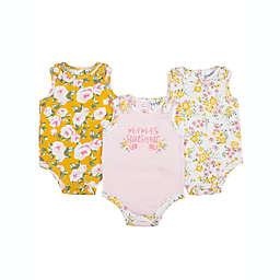"Nicole Miller™ 3-Pack ""Mama's Sunshine"" Sleeveless Bodysuits"