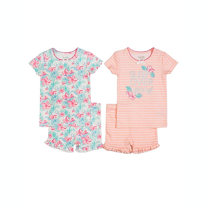 Alternate image 1 for Nicole Miller Size 24M 4-Piece Mix and Match Sleep Set