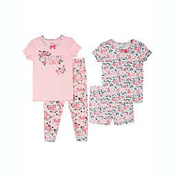 "Nicole Miller™ Size 24M 4-Piece ""Bedtime is the Best Time"" Pajama Set"