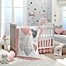 Part of the Lambs & Ivy® Heart To Heart Crib Bedding Collection