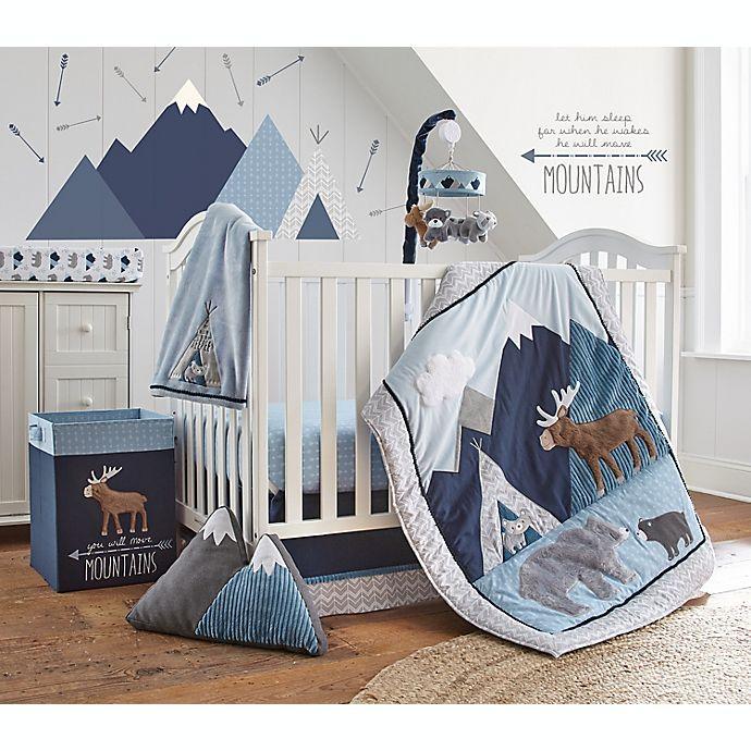 Alternate image 1 for Levtex Baby® Trail Mix 4-Piece Crib Bedding Set