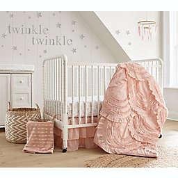 LevtexBaby® Skylar 4-Piece Crib Bedding Set in Blush