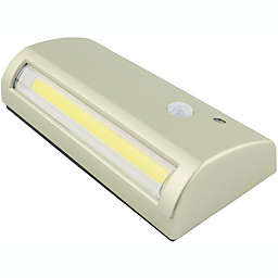 Fulcrum 5.75-inch Battery Operated 6-LED Path Light in Silver