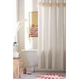 Wild Sage™ Tessa Tassels Shower Curtain