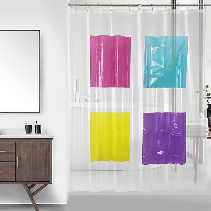 Alternate image 1 for Wild Sage™ Peyton Peva Pockets Shower Curtain