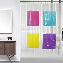 Wild Sage™ Peyton Peva Pockets Shower Curtain