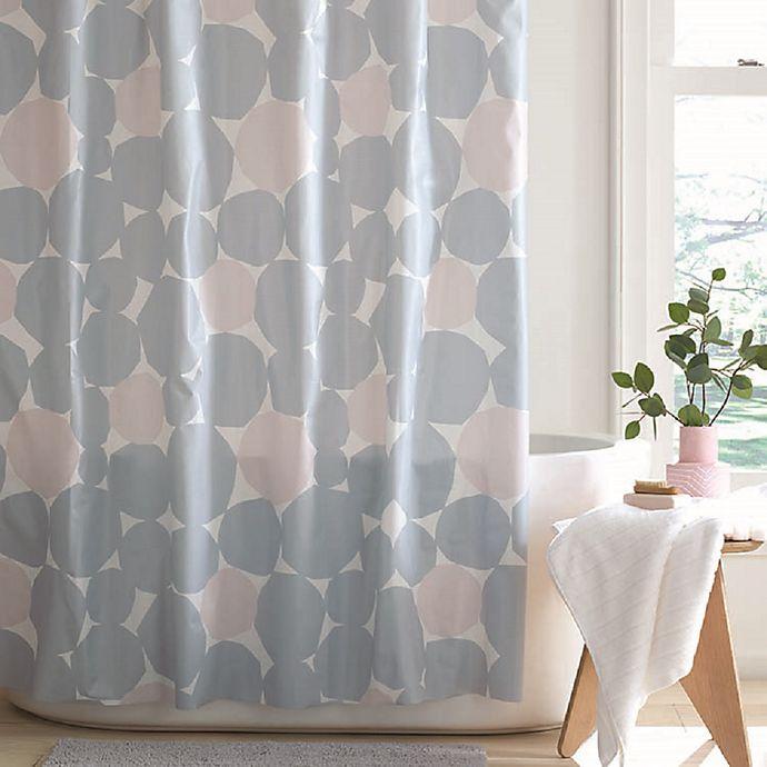 Alternate image 1 for Simply Essential™ Pebbles PEVA Shower Curtain