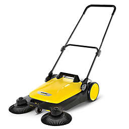 Karcher® S4 Twin Push Sweeper in Yellow