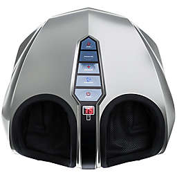 Miko Shiatsu Foot Massager with Deep Kneading and Heat in Silver