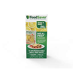 FoodSaver® 1 qt. Microwavable Meal Prep Bags (16 Count)