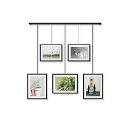 Umbra® Exhibit Wall Picture Frame in Black (Set of 5)