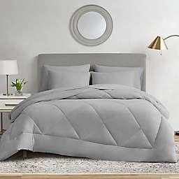 Ryleigh 7-Piece Queen Comforter Set in Grey