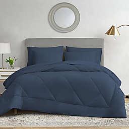 Ryleigh 7-Piece Queen Comforter Set in Navy