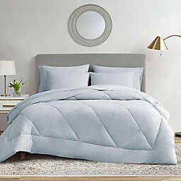 Ryleigh 7-Piece Queen Comforter Set in Mineral Blue