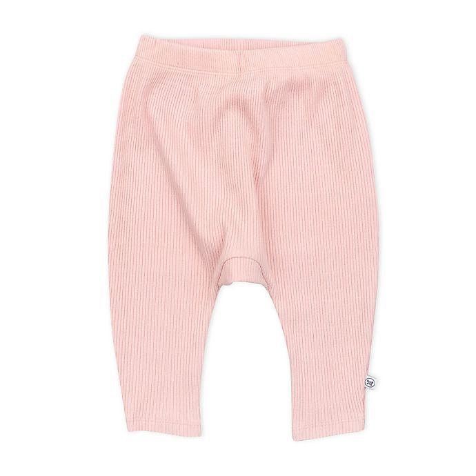 Alternate image 1 for The Honest Company® Organic Cotton Chunky Rib Harem Pant