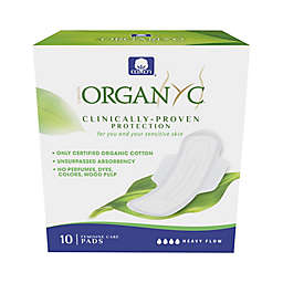 Organyc 10-Count Heavy Liners with Wings
