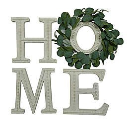 """Bee & Willow™ 4-Piece """"Home"""" and Greenery Wall Art"""