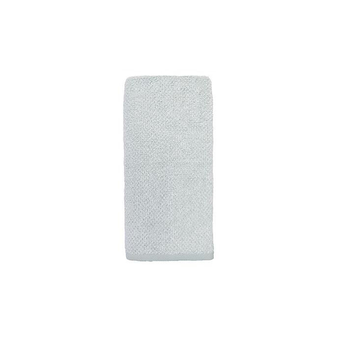Alternate image 1 for Haven™ Heathered Pebble Hand Towel in Sky Grey