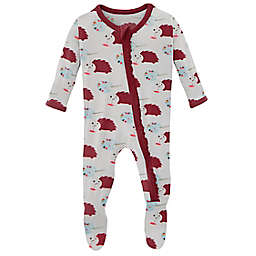 KicKee Pants® Size 6-9M Art Class Footie Pajama in Natural