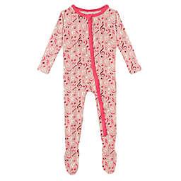 KicKee Pants® Music Class Footie Pajama in Peach Blossom