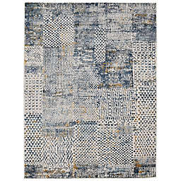Amer Rugs Criotnie Monique Rug in Ivory/Blue