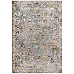 Amer Rugs Fabienne Faith Rug in Charcoal/Yellow