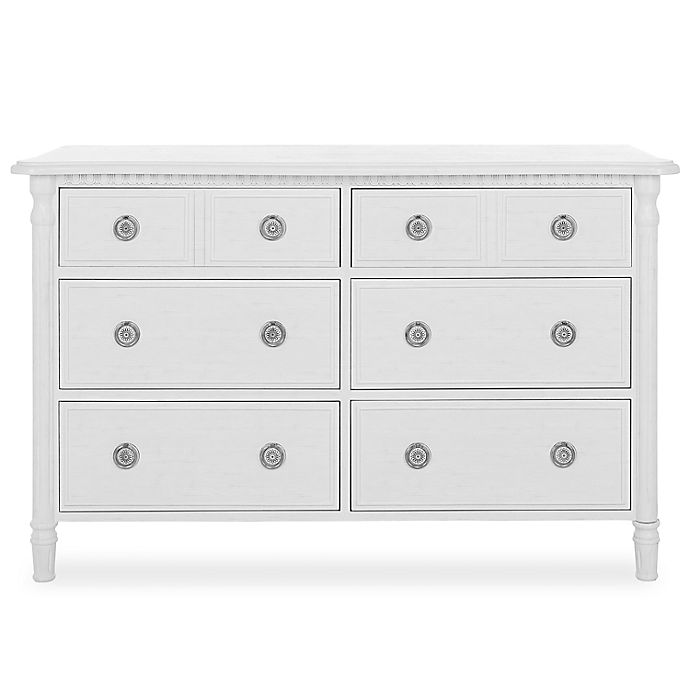Alternate image 1 for evolur™ Julienne Double Dresser in Toffee/Brushed White