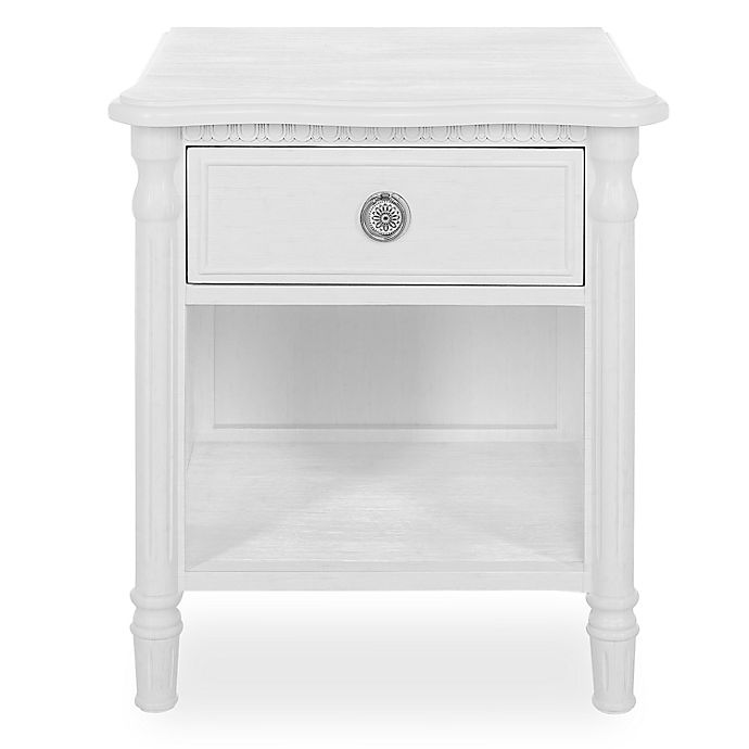 Alternate image 1 for evolur™ Julienne Nightstand in Brushed White