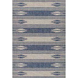 Momeni Riviera 8' X 10' Area Rug in Blue
